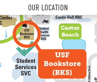Picture of a map. Click to view a campus map showing Our Location.