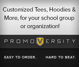 Customized Tees, Hoodies & More, for your school group or organization! Promoversity. Easy to order. Hard to beat. Click to shop.